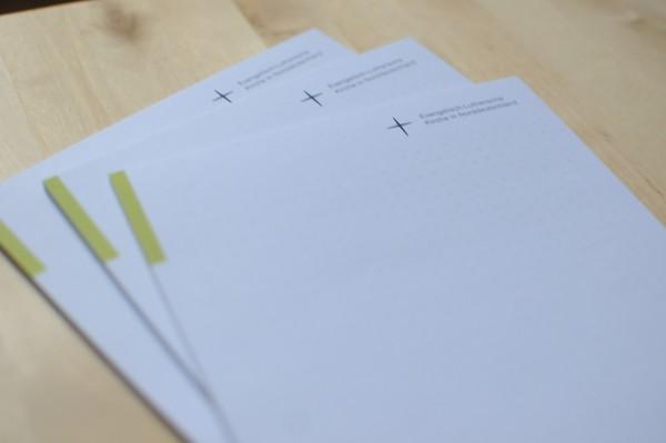 Schreibblock im Nordkirchen-Design DIN A5