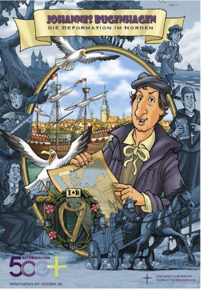 Bugenhagen-Comic - Reformation im Norden, Set mit 10 Stück