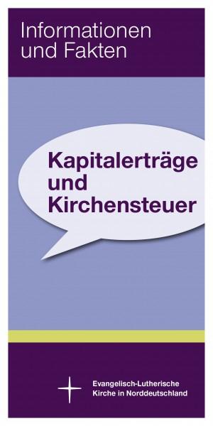 Kapitalerträge und Kirchensteuer - Flyer