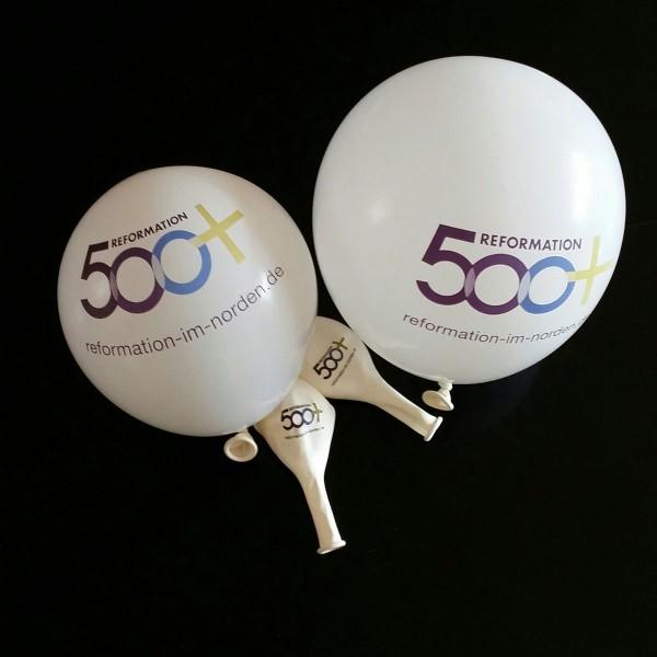 Luftballons mit Reformations-Logo 50er Pack