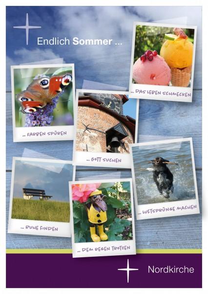 Sommerpostkarte Sommerimpressionen