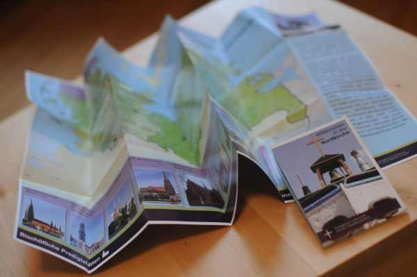 Nordkirchenkarte mit Infos, Faltplan