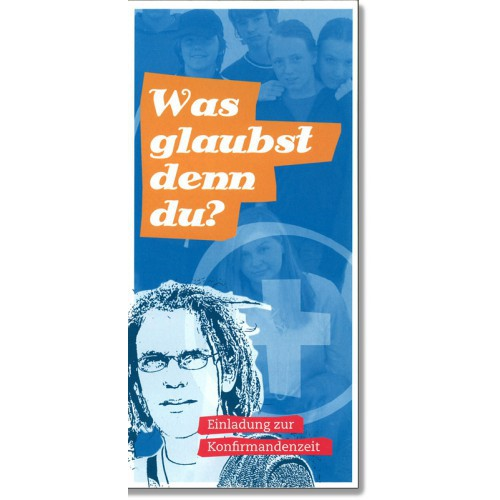 Konfirmandenzeit - Faltblatt, 10er Pack