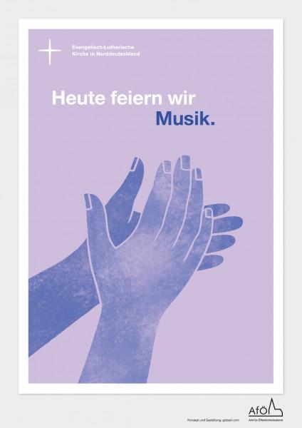 Willkommenskarten Konzert, 25er Bündel